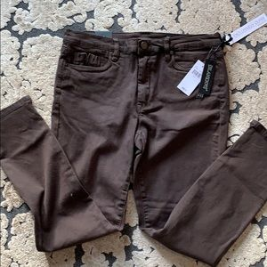 Blank NYC brown jeans NWT size 31